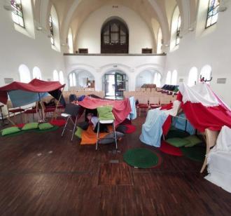 Kirche kunterbunt - foto