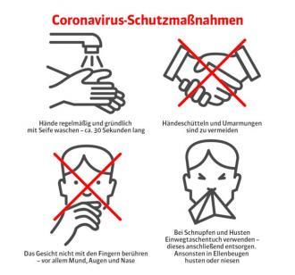 Coronavirus-schutzmasnahmen